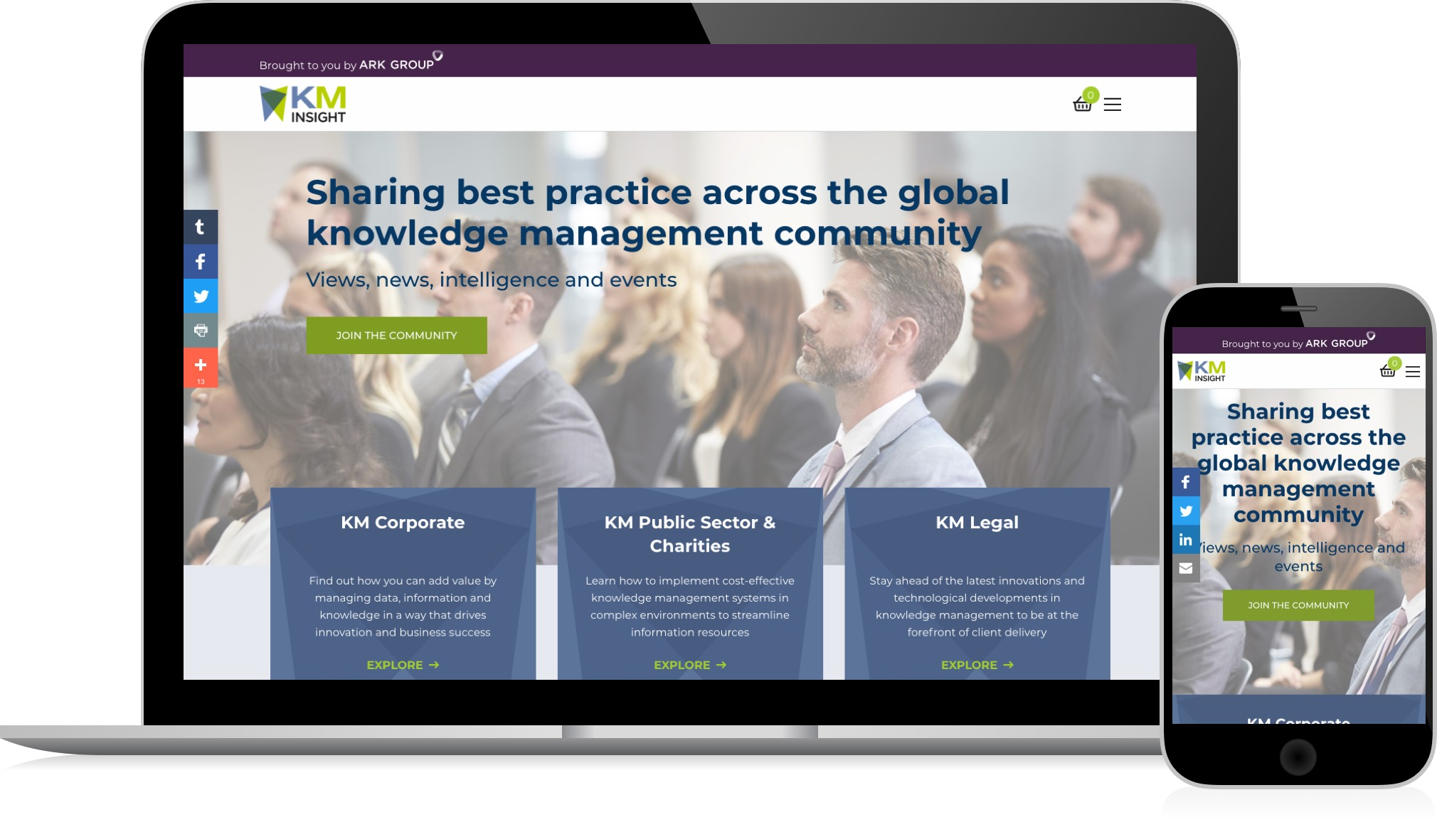 ARK Group Knowledge Management Hub