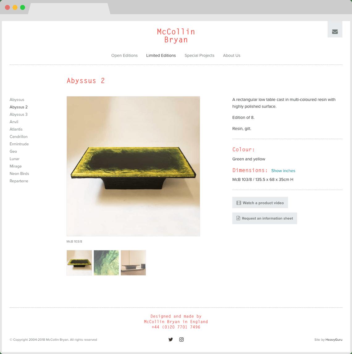 Website design and development, HeavyGuru, London